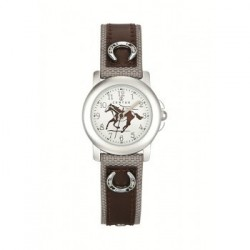 Montre enfant Marron Cheval - 647480