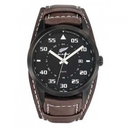 Montre All Blacks - 680160 - Cuir marron