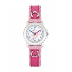 Certus 647483 - Montre fille fer à cheval Rose