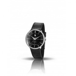 671063 - Montre lip mixte Panoramic 34 Noir