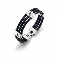 BRACELET All Blacks - 682037 cuir noir