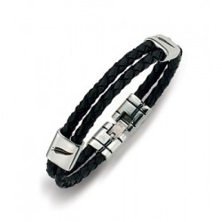 BRACELET All Blacks - 682038 cuir noir