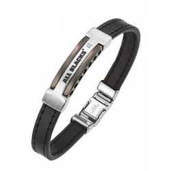 BRACELET All Blacks - 682046 cuir noir