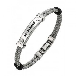 BRACELET All Blacks - 682048 cuir noir