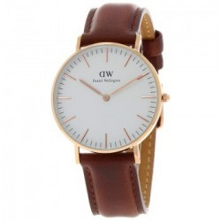 Montre Daniel Wellington - DW00100035- St Andrews marron