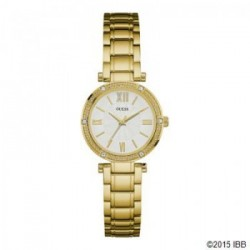 Guess W0767L2 - Montre femme PARK AVE SOUTH Doré
