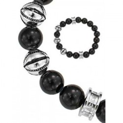 BRACELET All Blacks - 682050 acier gris