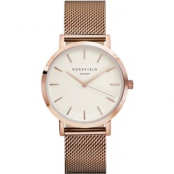 Montre Rosefield The Mercer MWR-M42 - Montre Or Rose Milanaise Femme