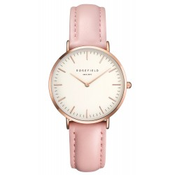 Montre Rosefield The Tribeca TWPR-T58 - Montre Cuir Rose Femme