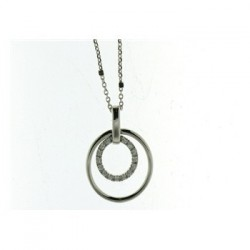 Collier Argent Naiomy - B2A03